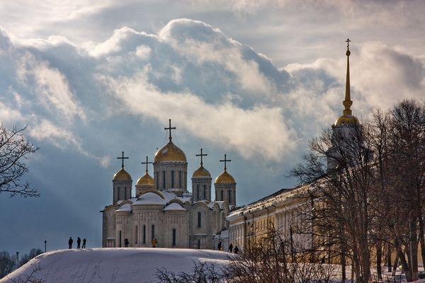 Winter in Wladimir (Russland)