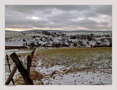 Winter is back.....