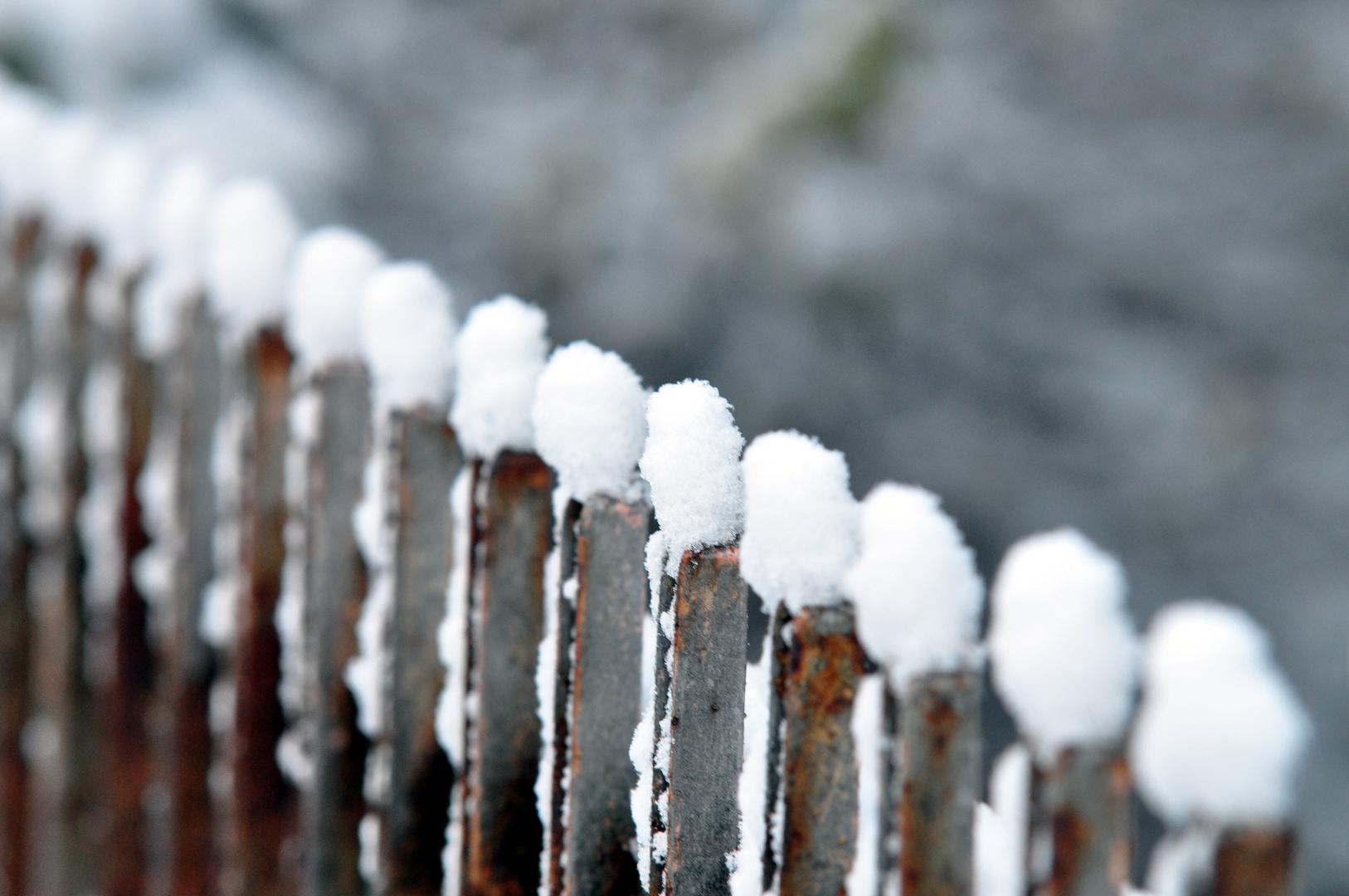 Winter ist gekommt