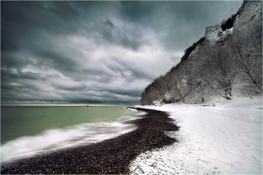 Winter-Küste