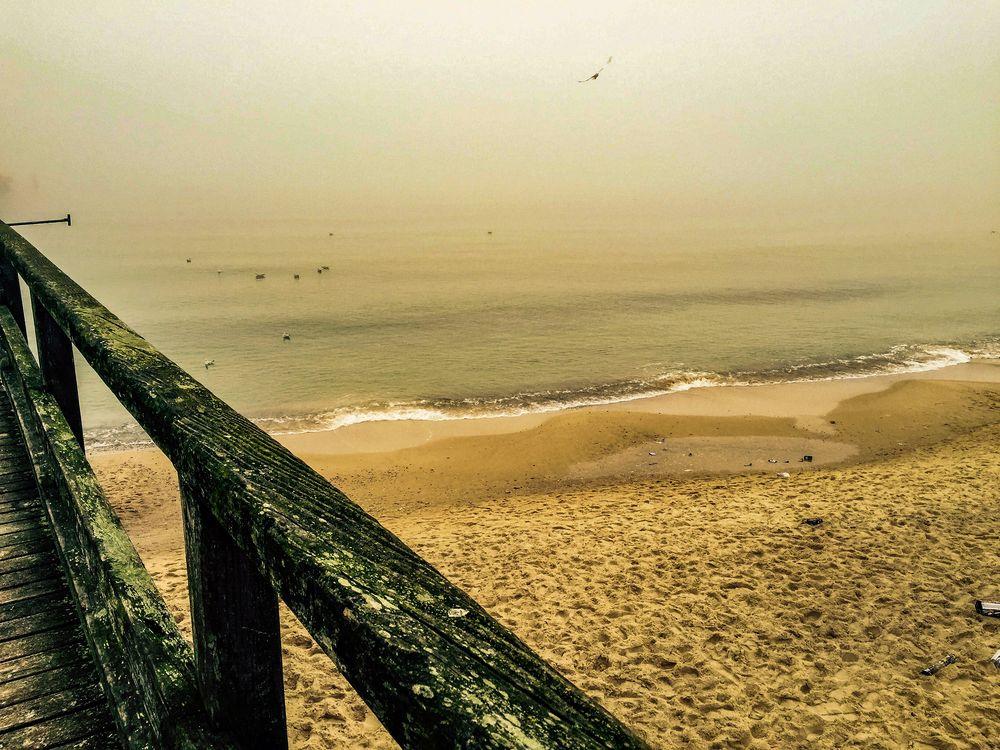 Winter Morning Baltic Sea