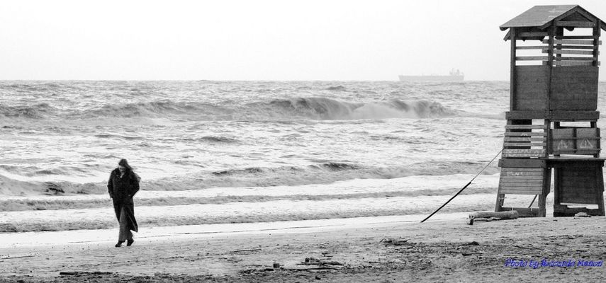 winter on the sea
