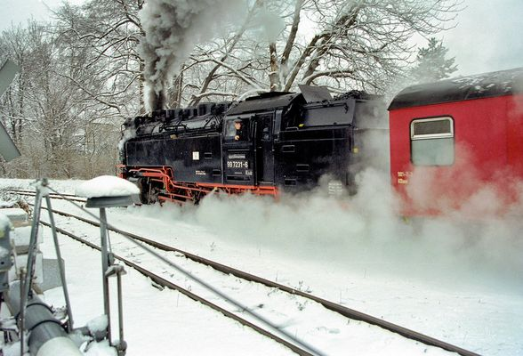 Winter Romantik - Harzquerbahn