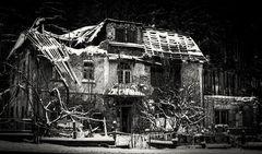 Winter-Ruine