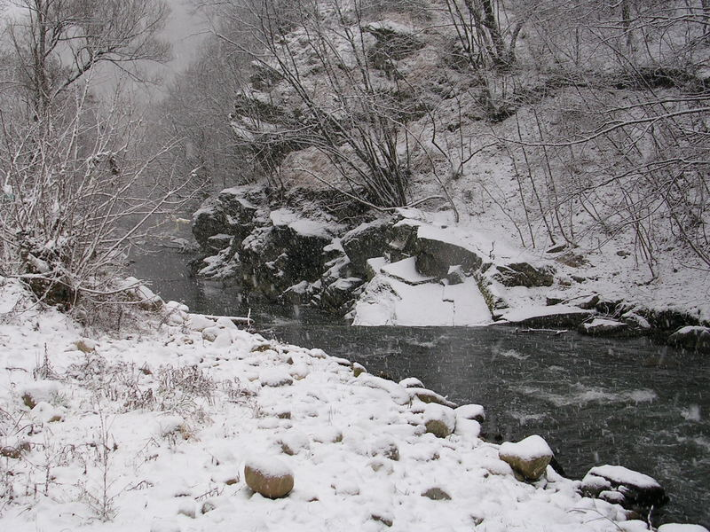Winter Scene - Somewhere in Bulgaria (2007)