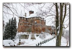 Winter-Schloss