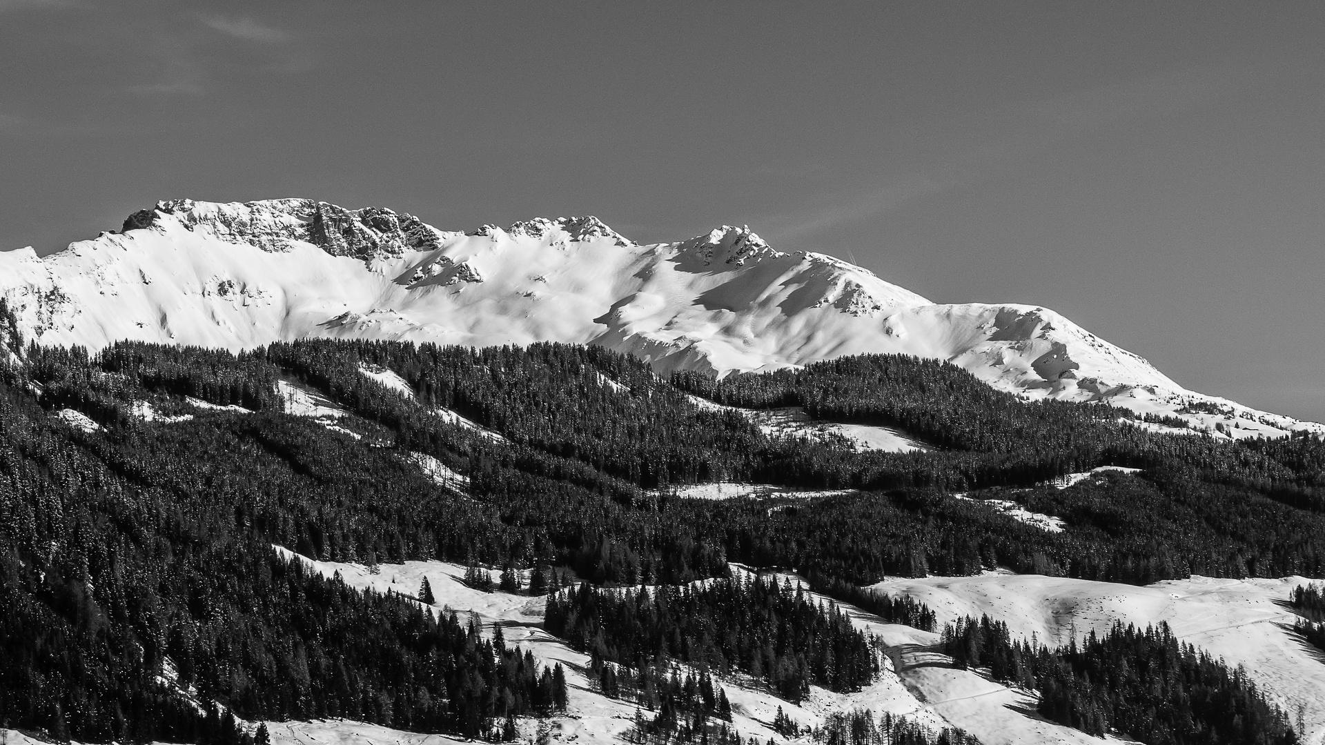 Winter Schwarz / Weiss