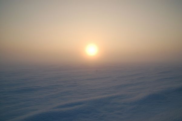Winter - Sonne - Nebel