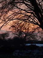 Winter - Sonnenuntergang