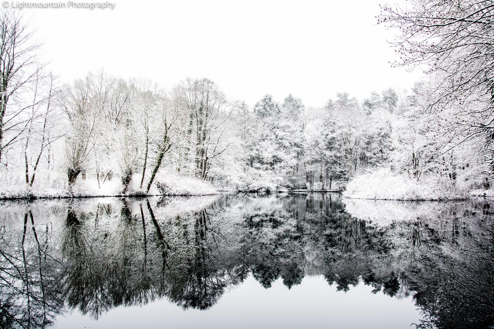 Winter Spiegelung