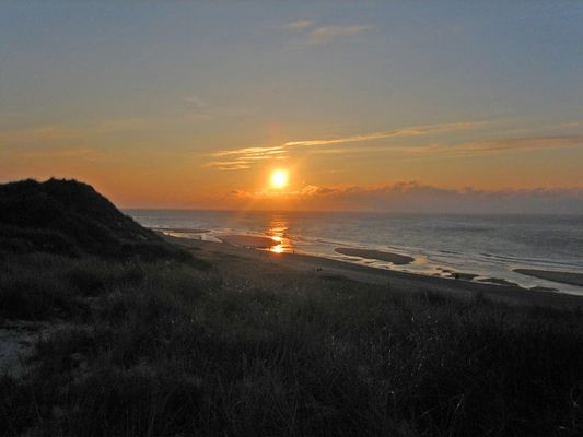 Winter-Sunset auf Sylt