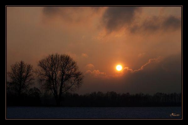 ~Winter Sunset ~