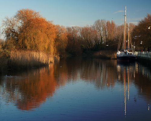 Winter Sunshine on the Stour