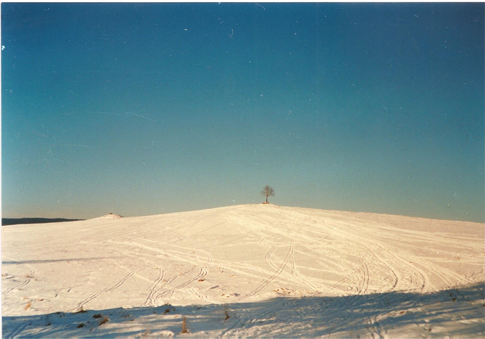 Winter time in Krusne hory