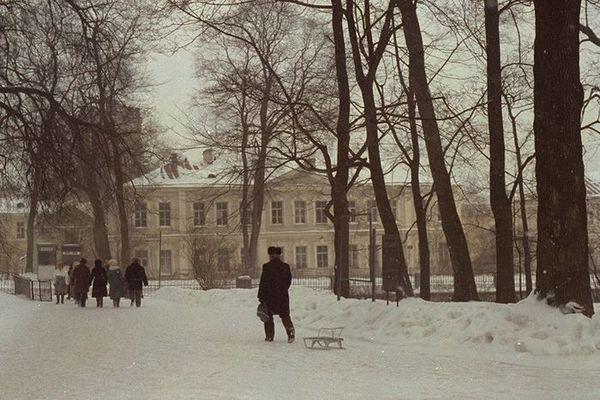 Winter time in Pushkin Village