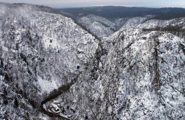 Winter über Berg und Tal
