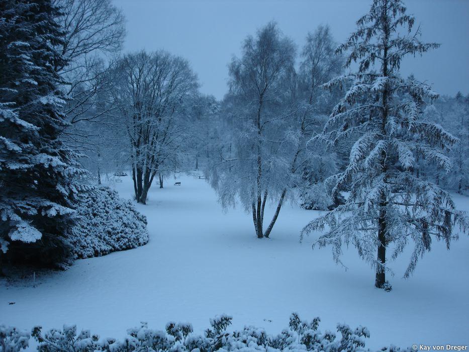 Winter unberührt