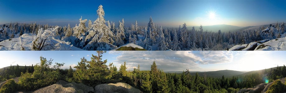 Winter und Sommer