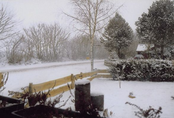 Winter vor der Tür