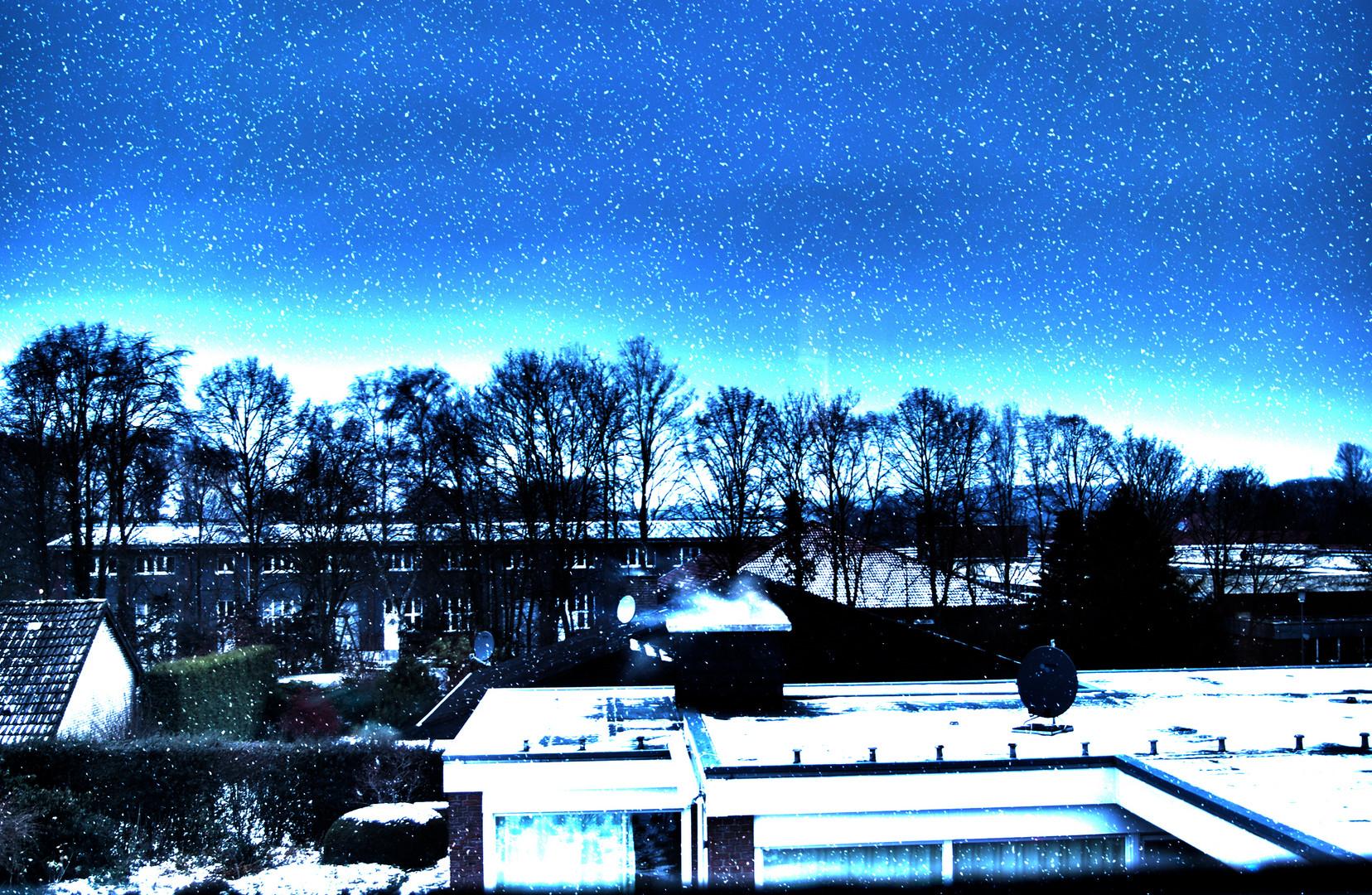 Winter vor meinem Fenster