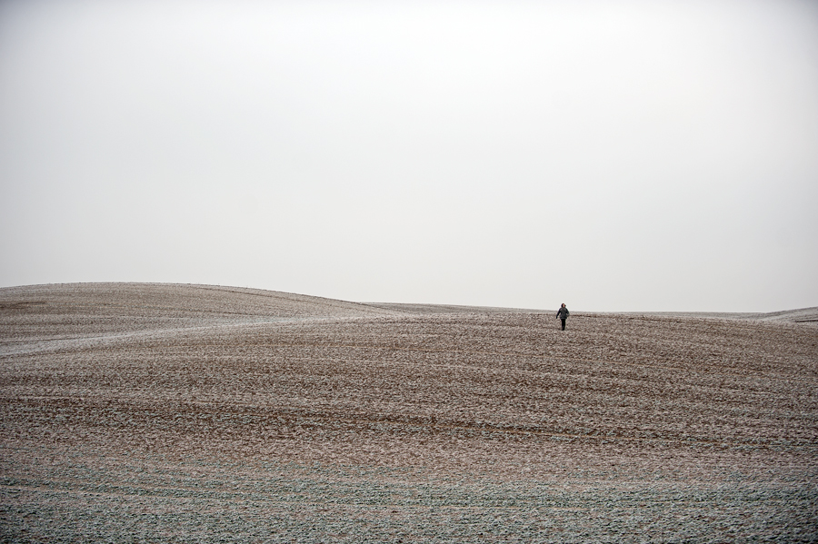 winter walk by Ralph Bache