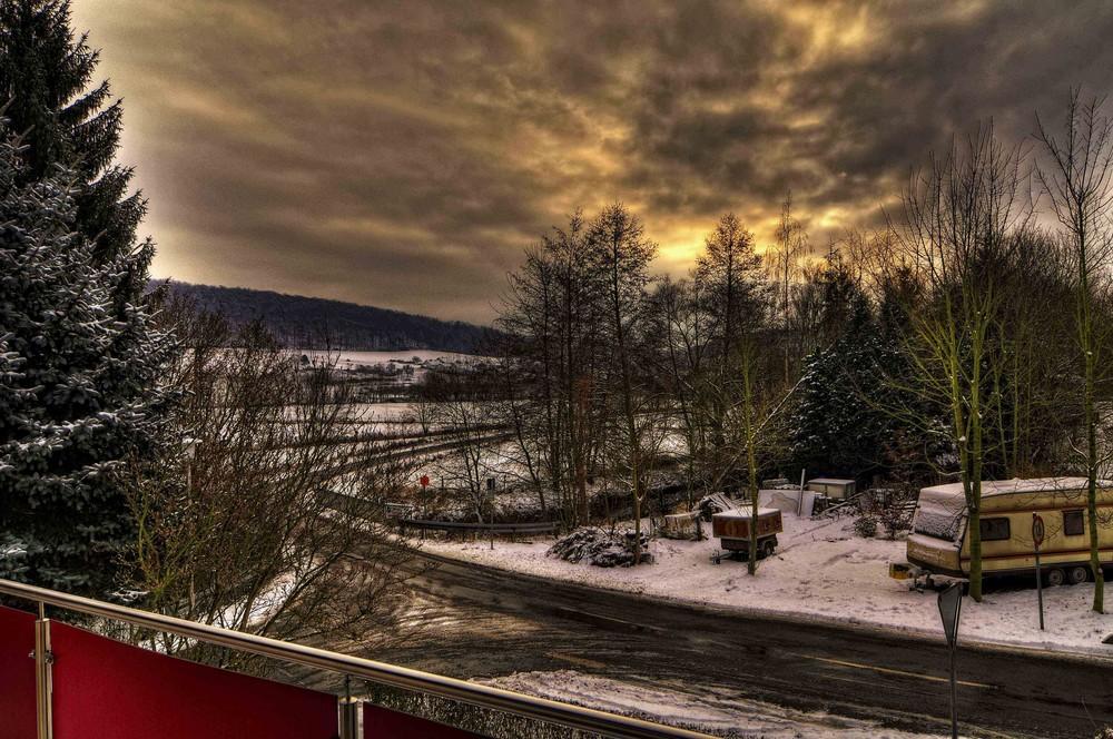 Winter-Wolkenland