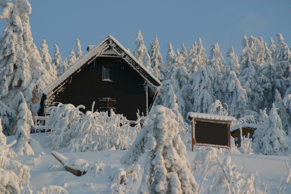 Winter wonderland - Modell oder Realität...
