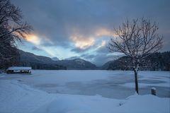~ Winterabend am Alpsee ~