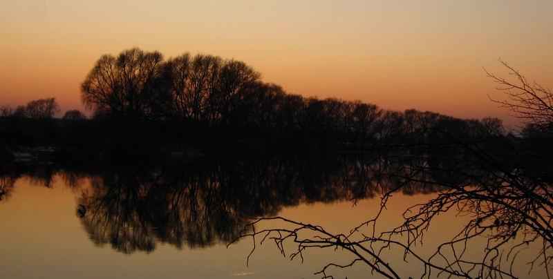 winterabend an der mulde(zwei)