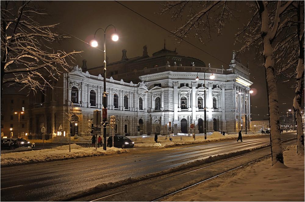 Winterabend - Burgtheater
