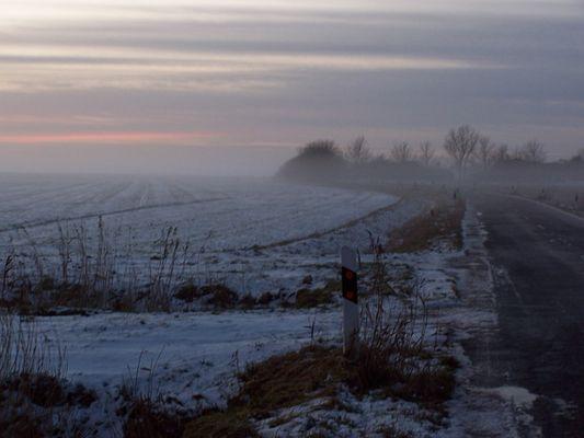 winterabend in dithmarschen