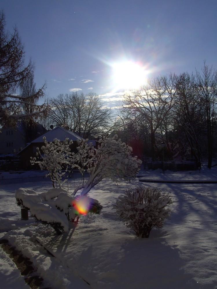Winterabend in Herne