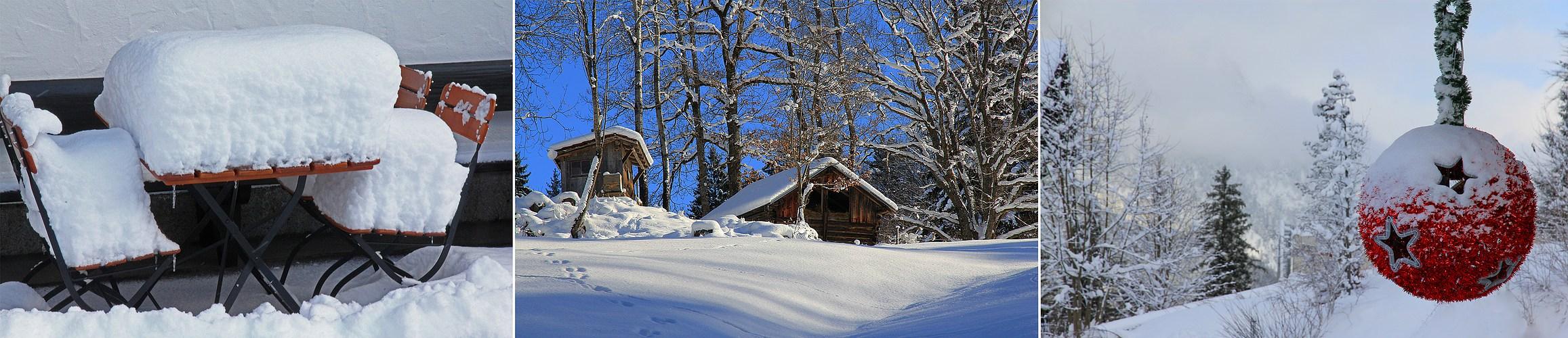 Winteranfang in Garmisch-Partenkirchen
