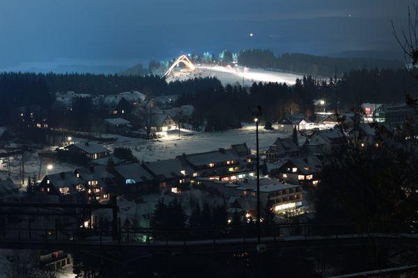 Winterberg bei Nacht