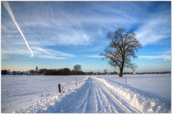 Winterblick auf Gimbte...