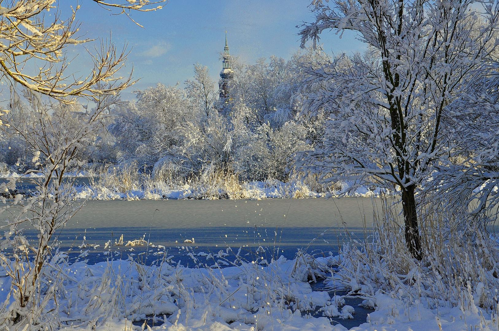 Winterblick zum Dom