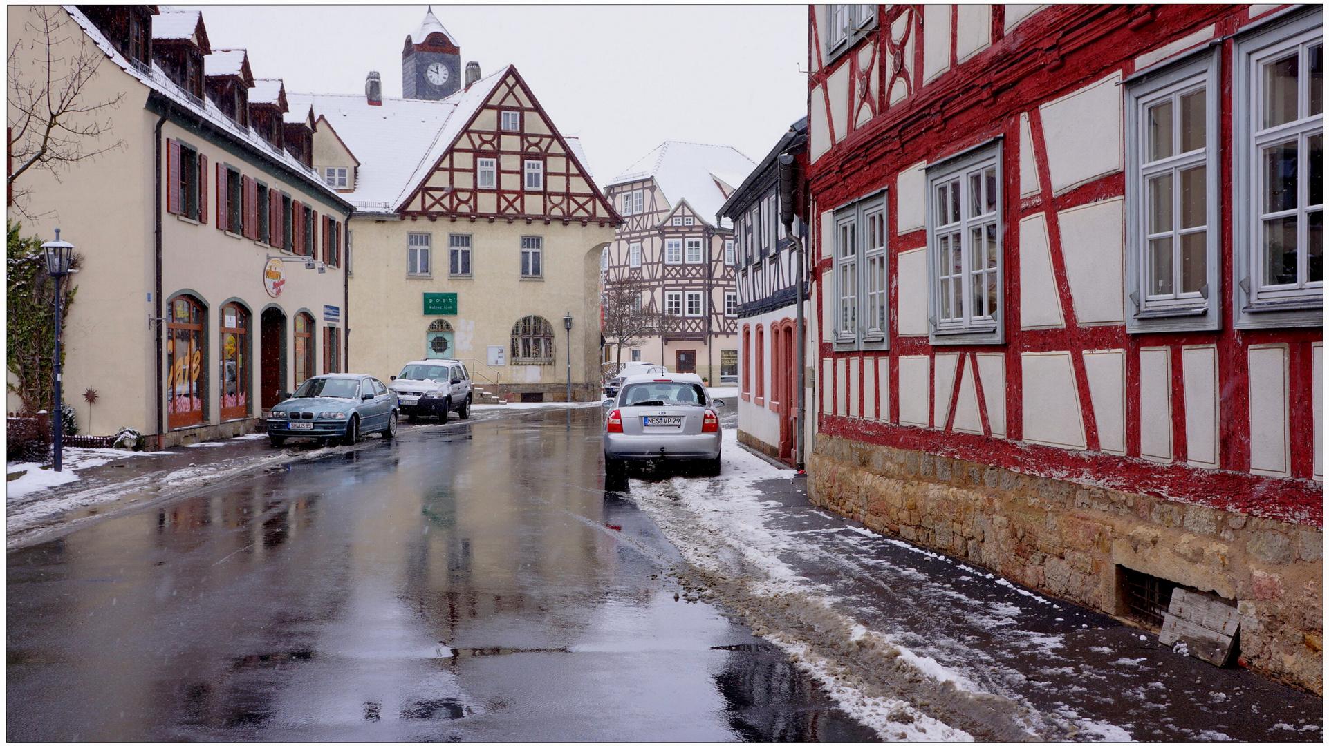 Wintereinbruch (brusco del invierno)