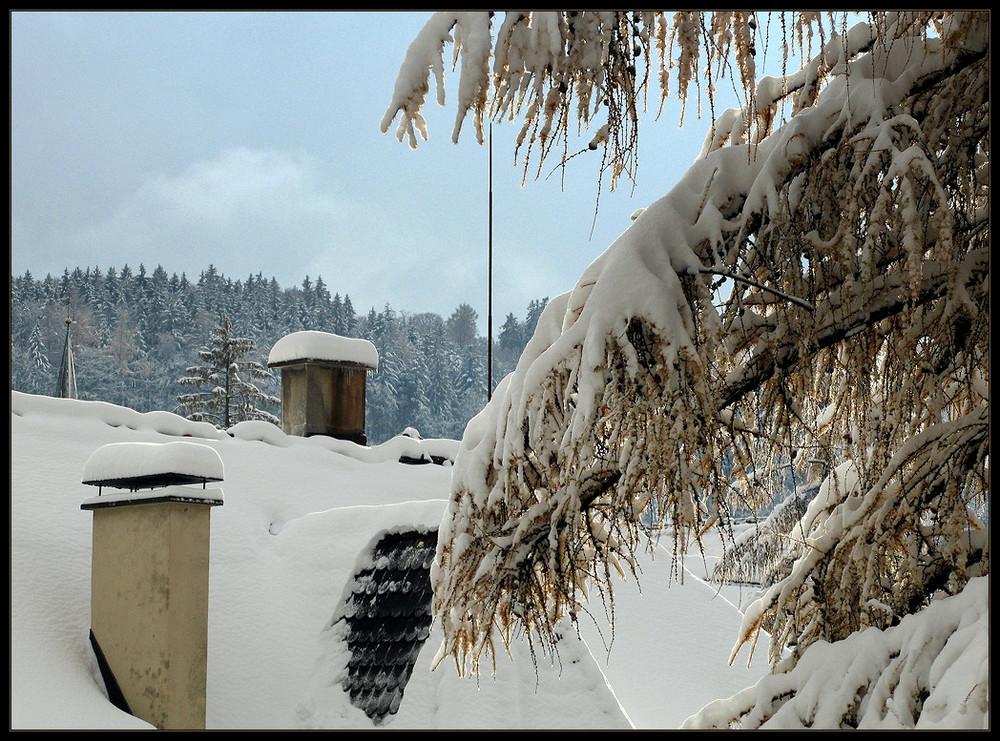 Wintereinbruch .....