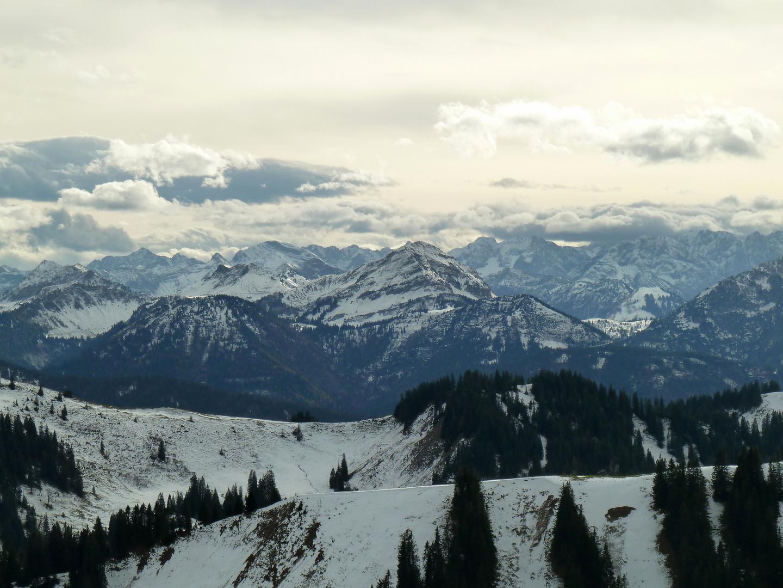 Wintereinbruch im Karwendel