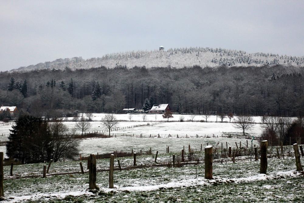 -Wintereinbruch im Solling-