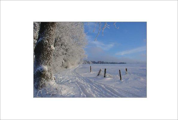 Wintereinbruch in Hessen