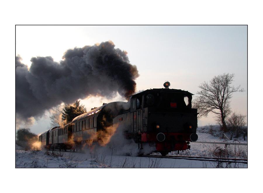 Winterexpress von Anno dazumal