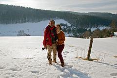 Winterfreude im Osterzgebirge