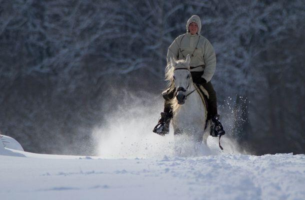 Winterfreude im Taunus