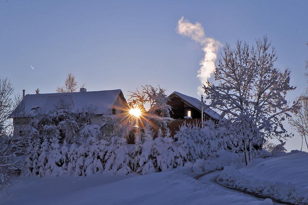 Winterfreuden 12 und zwei Sonnen...