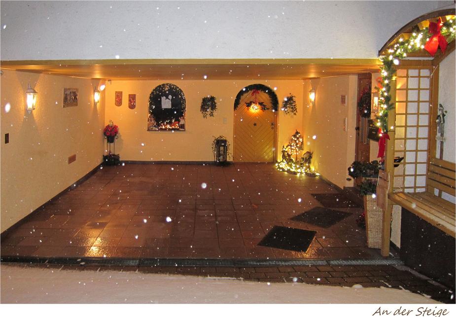 Wintergarage in Bretten