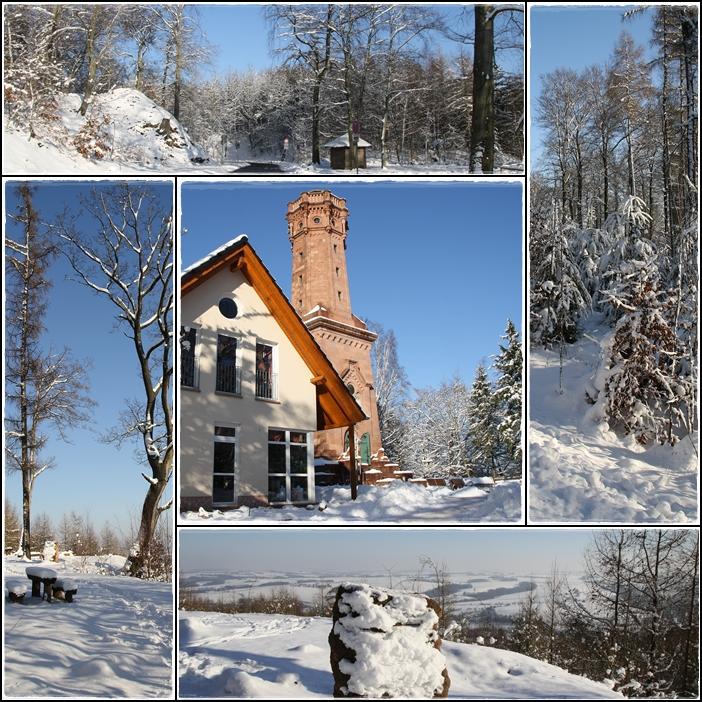 Winteridylle am Rochlitzer Berg