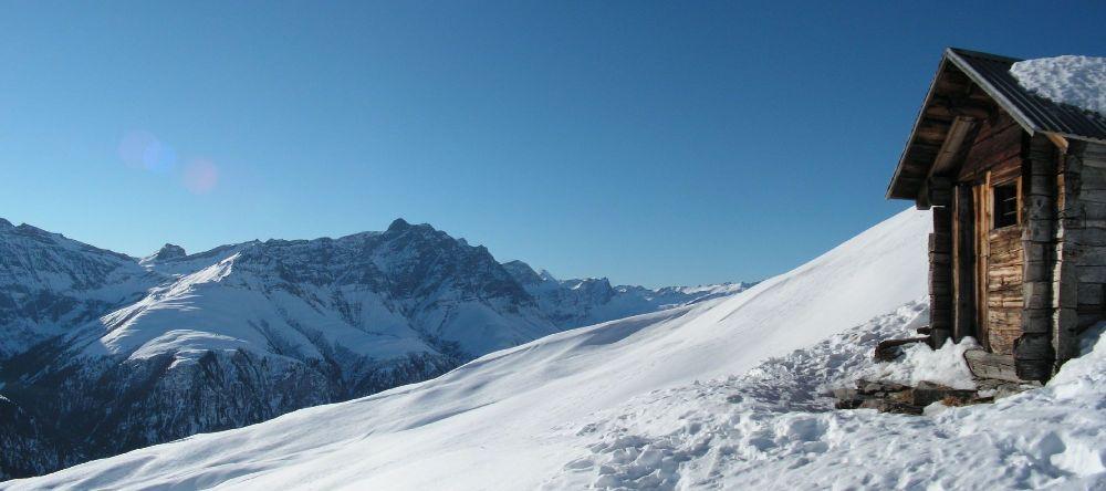 Winteridylle im Safiental