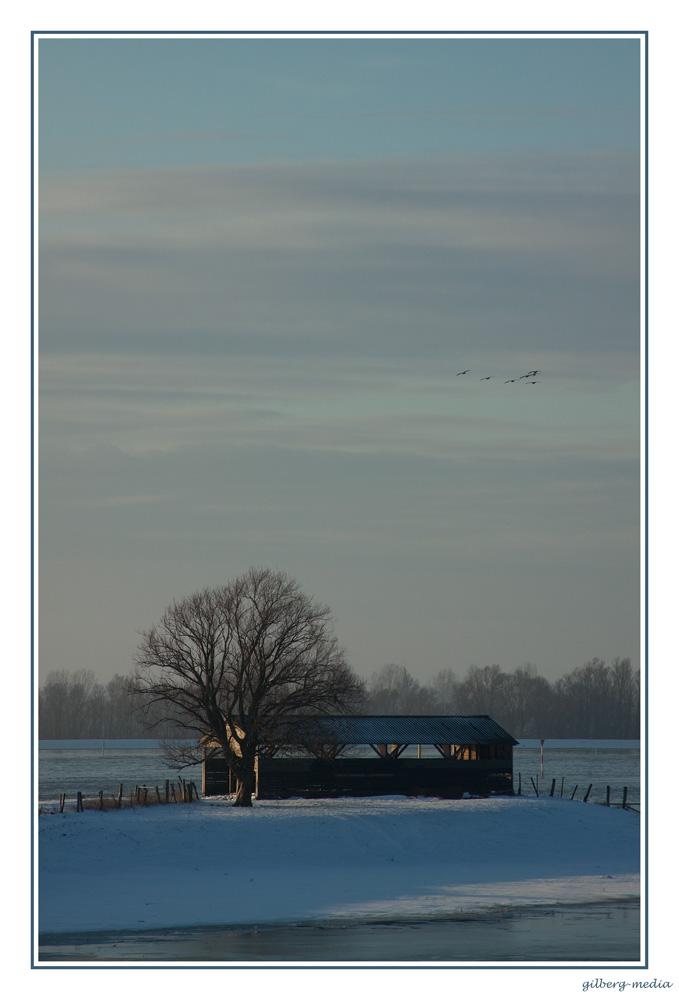 ...Winteridylle Niederrhein