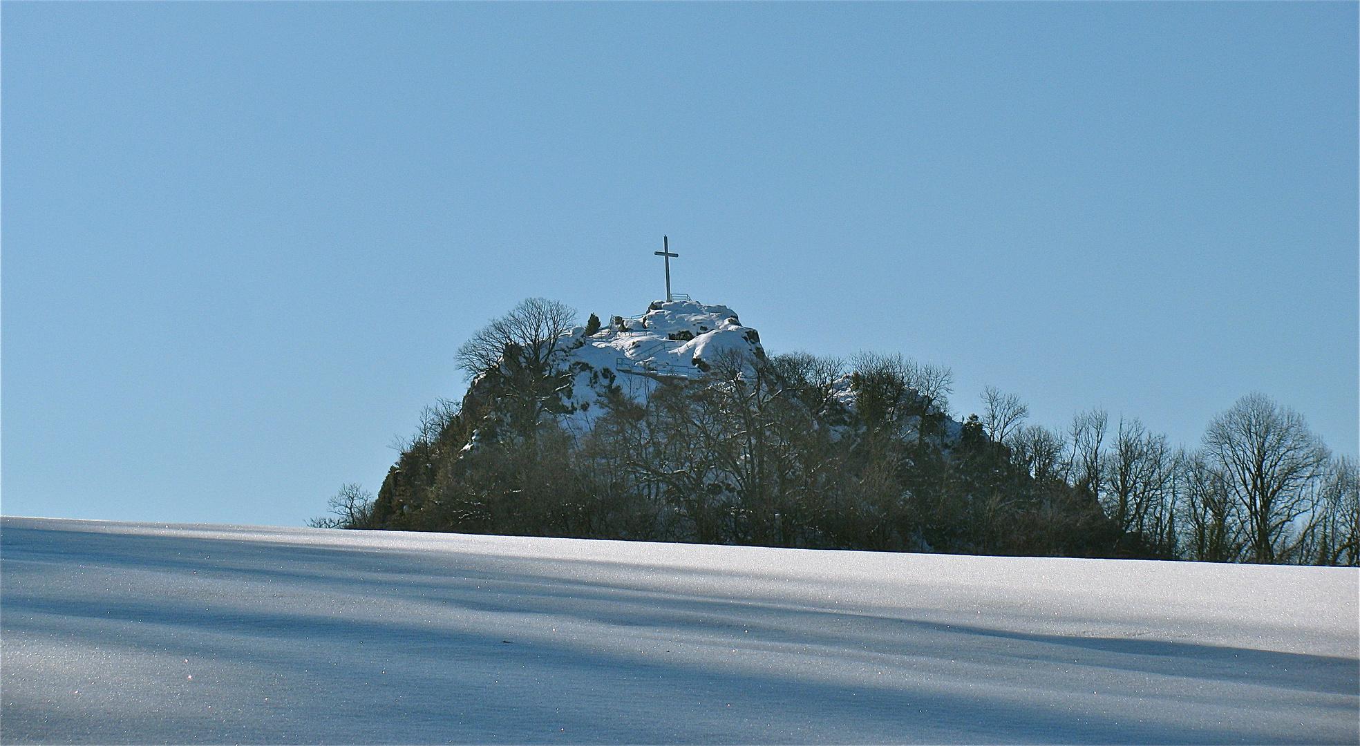 ...Winterimpression am Mont Poupet ..